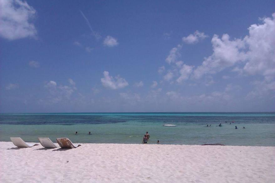 Vue de la plage du Sunscape Sabor à Cozumel