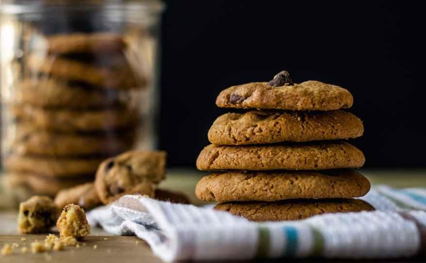 cookies crumbs dessert food