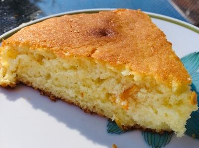 gâteau moelleux orange