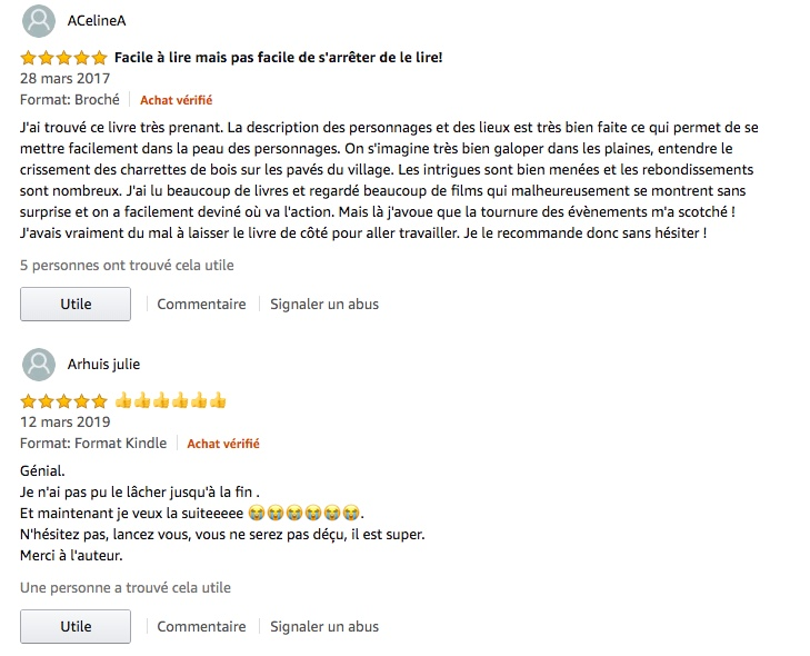 commentaires DD